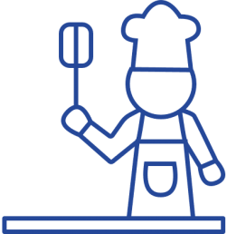 Blue Kitchen Icon